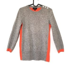 J.Crew Dream color block cashmere sweater 30538